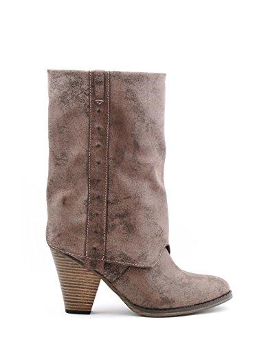 MIA Women's Jerri Harness Boot,Taupe American,7 M (Mia Shoes Boots)