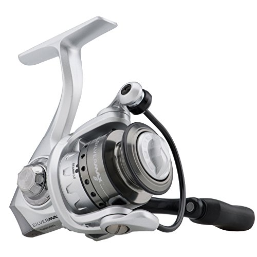 Abu Garcia Silver Max Spinning Reel with 5 5.2:1 Gear Ratio 6 Bearings 20 1/2