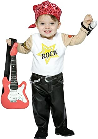 Amazon.com: Futuro Rockstar Boy 6/12 MOS: Clothing