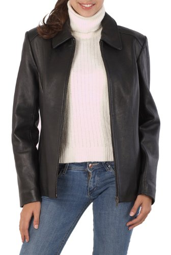 Lambskin Leather Fashion Jacket (BGSD Women's