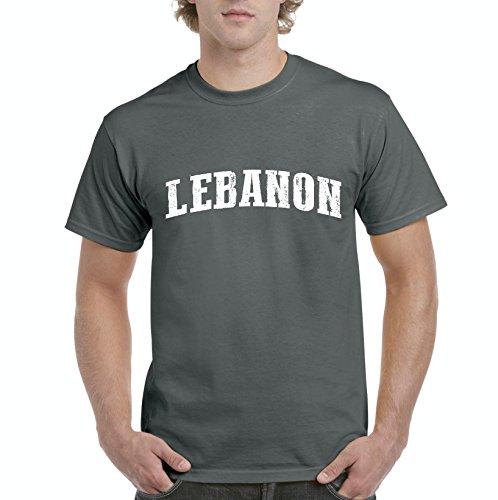 Lebanon T-Shirt Lebanon Lebanon Men's T-Shirt - Clothing List Lebanon