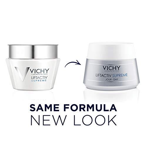 41z7Jm7tq6L - Vichy LiftActiv Supreme Anti Aging Face Moisturizer, Anti Wrinkle Cream to Firm & Illuminate, Suitable for Sensitive Skin, 1.69 Fl Oz