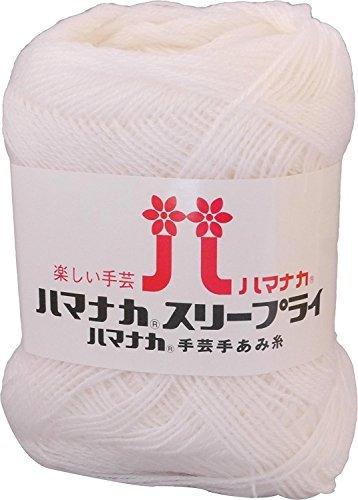 Sleep Rye Wool Extra fine white series 25 g 210 m 10 pieces set