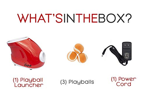 Felix & Fido Playball! Automatic Ball Launcher for Dogs. 3 Throwing Distance Settings, 3 Small Durable Tennis Balls Included, Launches Up to 20 Feet,for Indoor and Outdoor Play.for Small Dogs ONLY by Felix & Fido (Image #2)