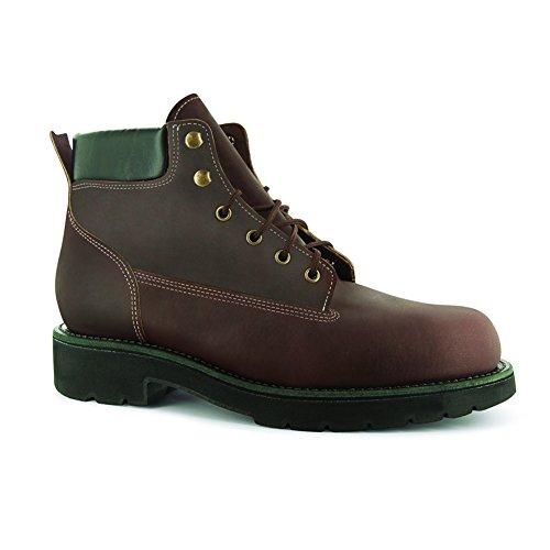 Leather Livingston BossSole Work 6'' Men's Abram 5 Burgundy Boot XL Trailblazer Boots 8 3W ExqRB0f