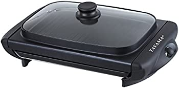 Tayama TG-821 Electric Griddle With Glass Cover