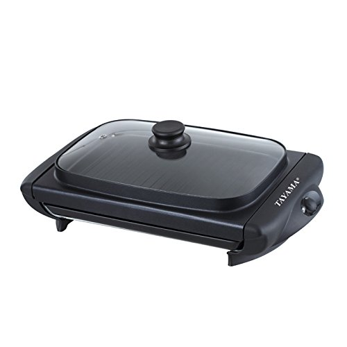 Tayama TG-821 Electric Griddle with Glass Cover, Black by TAYAMA (Image #3)