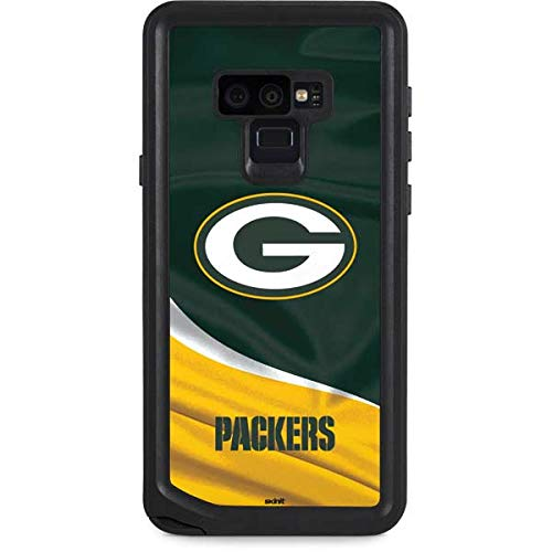 Green Bay Packers Note - Skinit NFL Green Bay Packers Galaxy Note 9 Waterproof Case - Green Bay Packers Design - Sweat-Proof, Snow-Proof, Dirt-Proof, Dust-Proof Phone Cover