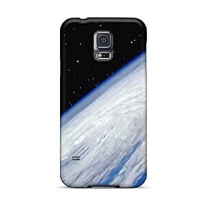 For Galaxy S5 Premium Cases Covers Hurricane From Space Protective Cases