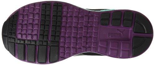 Puma Faas 500 zapato de correr para mujeres, negro - verde, 6 UK 39 EUR