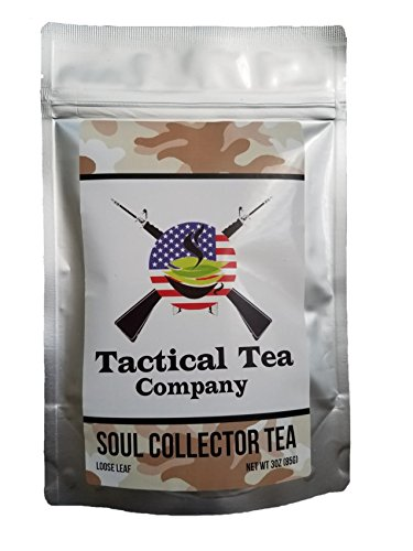 Cell Guard Antioxidant - Green Tea and Ayurvedic Tea Blend, 20 Tea Bags per package, Organic, Gourmet Tea, Rich in Antioxidants, Promotes Energy, Weight Loss, Improved Health, Soul Collector Tea by Tactical Tea Company