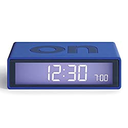 Lexon Flip On/Off Alarm Clock (Blue)