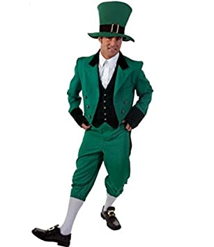 JX & JX Papel cos de halloween clásico irlandés traje ...