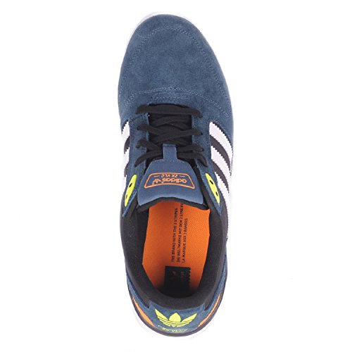 0838053c1ed4 adidas Skateboarding Mens ZX Vulc Midnight White Solar Yellow outlet ...