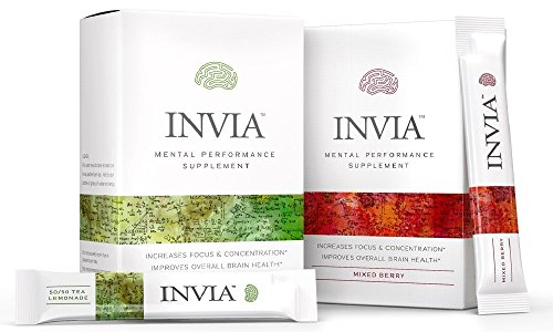 INVIA Performance Supplement Nootropic Enhances product image