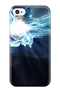 Hot YLUTWxv22094EQvjo Case Cover Protector For Iphone 4/4s- Space Art
