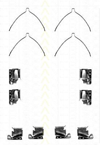 Triscan 8105131619 Brake Pad Accessory Kit Front Axle