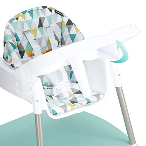 41z7OBIGD%2BL - Evenflo 4-in-1 Eat & Grow Convertible High Chair, Prism