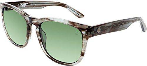 Spy Optic Beachwood Lens Collection Sunglasses, Gray Smoke/Happy Gray Green, One - Happy Spy Lense