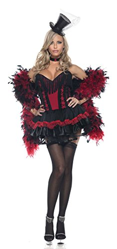 Be Wicked Speak Easy Saloon Girl Adult Costume - L/XLarge