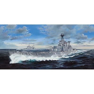- Trumpeter Scale Models 3710 1/200 HMS Hood British Battleship