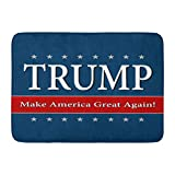 Custom Doormats Rump Make America Great Again Home Door Mats 18 x 30 inches Entrance Mat Floor Rug Indoor/Outdoor/Front Door/Bathroom Mats Rubber Non Slip