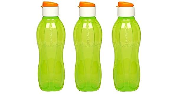 Tupperware – Botella de agua – 1 litro Fliptop, Set de 3, libertad ...