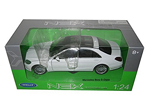 Welly Mercedes Benz S Class 1/24 Scale Diecast - Welly Models