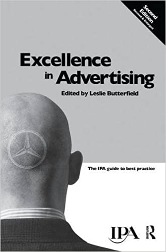 Book Excellence in Advertising