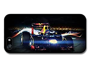 AMAF ? Accessories Sebastian Vettel Car Lighting F1 Formula One Driver case for iphone 4s