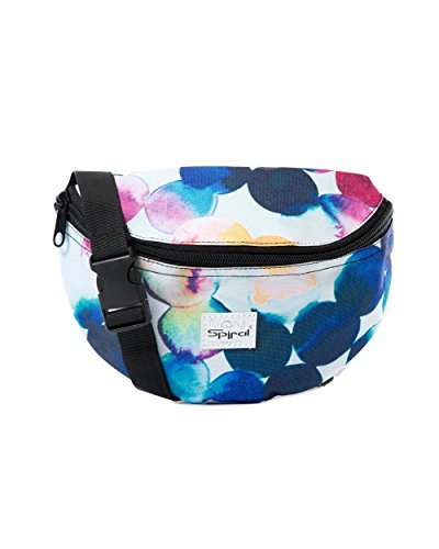 [iHeartRaves Watercolor Fanny Pack, Small Waist Pack for Raves, Festivals, Clubwear] (Halloween Costume Ideas 2016 Men)