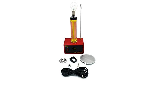 Tesla Coil Eisco Labs - Bobina para mesa (220/240 V, 50/60 Hz ...
