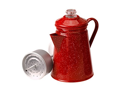 - GSI Outdoors 8 Cup Percolator, Red #01254