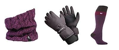 Heat Holders - Ladies Ski Accessories Ski Socks Ski Gloves and Neck Warmer