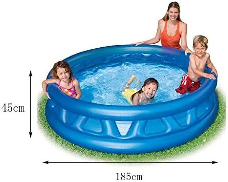 LYM & bañera Plegable Piscina Plegable Baño Familia Niños Nadar ...
