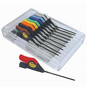 サンハヤト 面実装IC用テストクリップ 10色各1個セット HP-2-10   B011IJUGR8