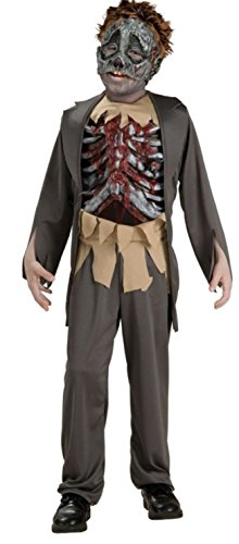 Rubie's Corpse Costume, One Color, Medium (Half Zombie Halloween Costume)