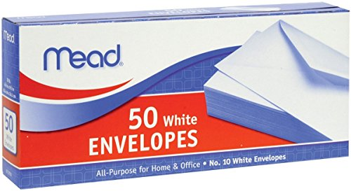 Mead Business Envelope Size 10
