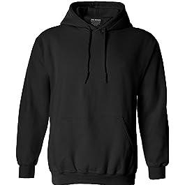 Joe's USA Men's Hoodies Soft & Cozy Hooded Sweatshirts in 62 Colors:Sizes S-5XL
