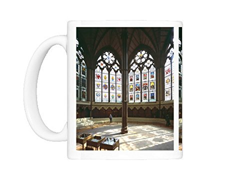 Abbey Stained Glass Print - Mug of Westminster Abbey Chapter House J020082 (485184)