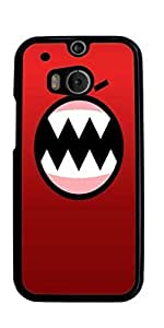 Happy funny Expression Hard Case for HTC ONE M8 ( Sugar Skull )