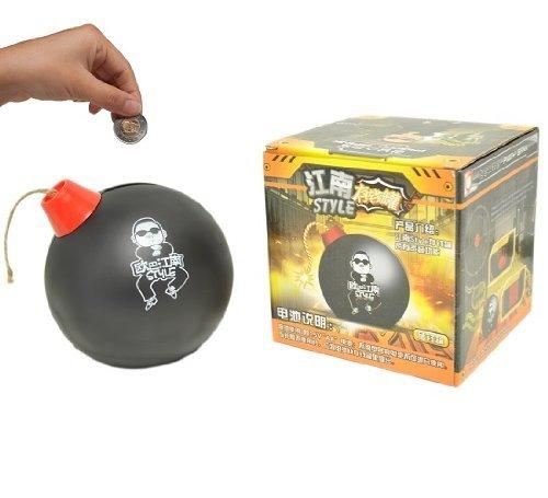 nero YOIL di regalo salvadanaio scatole risparmio salva Salvadanaio creativo FireWire Bomb Salvadanaio creativo in plastica