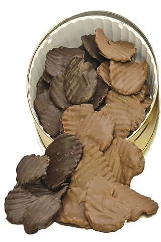 1 lb. Chocolate Covered Potato Chips 1/2 Milk 1/2 Dark ()