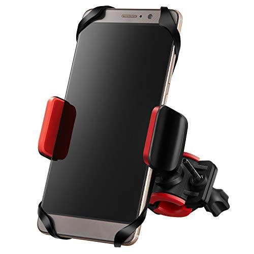 - ACRoad Bike Phone Mount for Bicycle Motorcycle Handlebar - Universal Adjustable Bike Phone Holder for Any Smart Phone Apple iPhone Galaxy