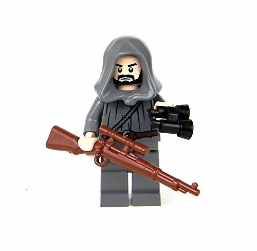 Battle Brick German WW2 Soldier Sniper (SKU24) Custom Minifigure