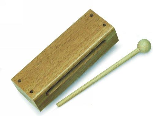 (Nino Percussion NINO22 Large Woodblock, Natural Finish)