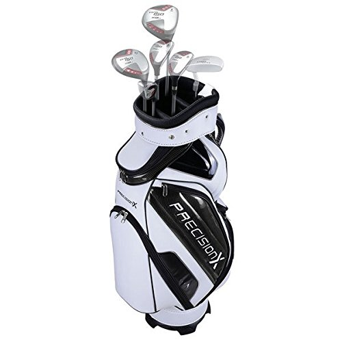 TRIPREL INC. 5-Way Golf Club Stand & Carry Bag w/ Bag Cap - White w/ Black Trim by Triprel Inc (Image #3)