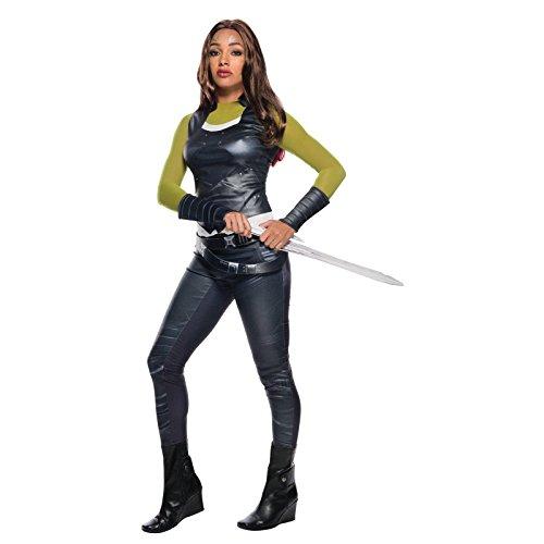 Secret Wishes Women's Guardians of the Galaxy Gamora Costume, Gotg Vol. 2, Medium