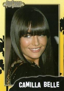 Camilla Belle trading card (Actress) 2008 Popcardz #36 -  Autograph Warehouse