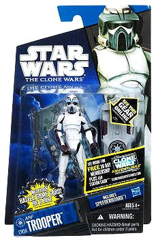 Star Wars The Clone Wars 2011 Series ARF Trooper #CW56 (Kamino) 3.75 Inch Scale - Star Wars Arf Trooper